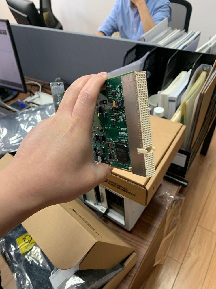 最新的PXI-6226数据采集板卡