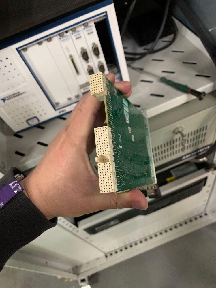 原来的PXI-6226数据采集卡
