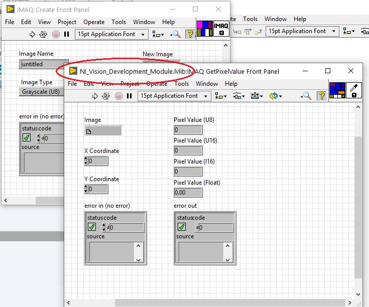 Titlebar showing .lvlib prefix for licensed VIs