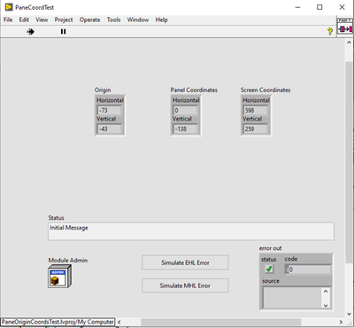 Run-Time - with Menu and Toolbar in VI Properties
