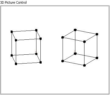 How to plot an object to different positions in 3D picture