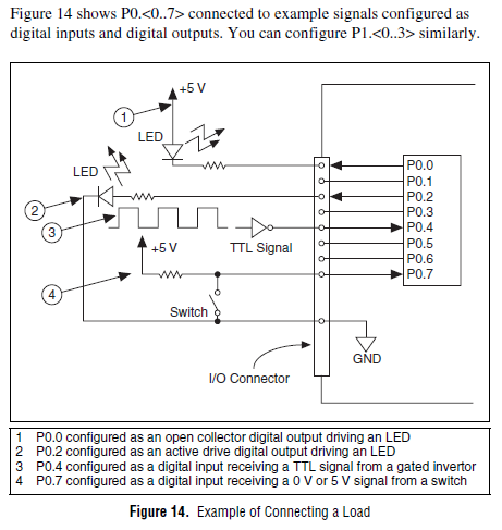 usb keyboard wiring diagram how to connect a mechanical switch to the usb-6009 - ni ... ni usb 6008 wiring diagram