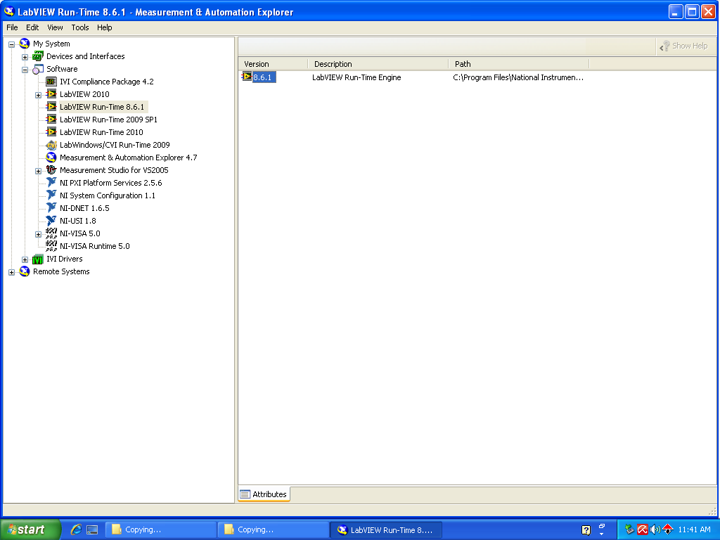 labview runtime engine for windows 7