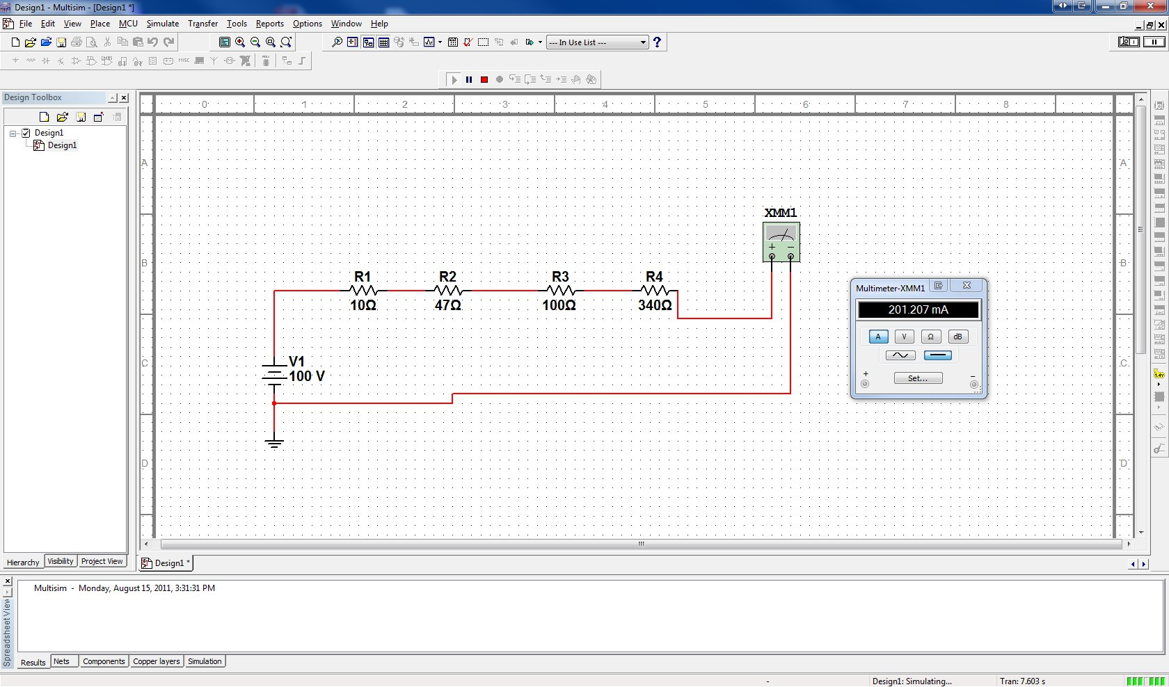 How Do I Set An Amperage Value Of 200ma In The Design Of A Circuit - Ni Community