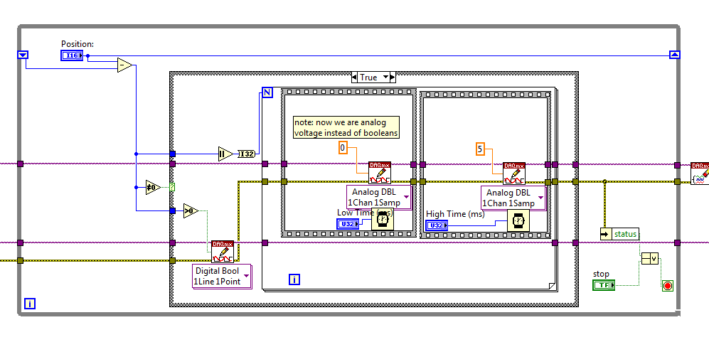 Stepper motor control discussion forums national for Stepper motor control software