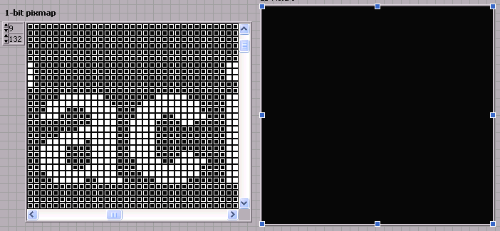 Display 1-bit depth BMP file in LabVIEW - eehelp com