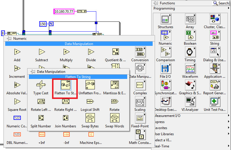 Solved: Data transfer LabView/Simulink through UDP - Page 2
