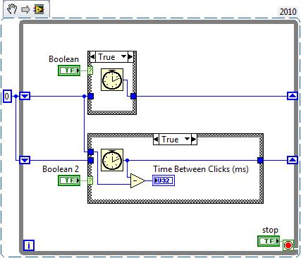 Time Between Clicks - Simplified