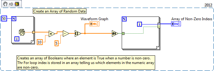 how to find indices and values of nonzero elements? - NI Community