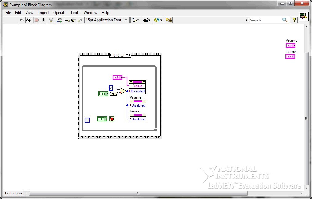 change variable value in labview run mode - ni community